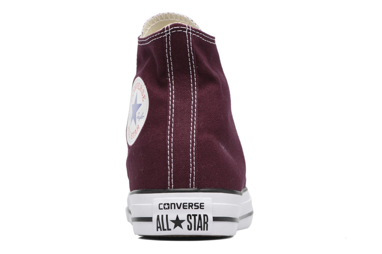 Baskets Converse Chuck Taylor All Star Hi W Bordeaux vue droite