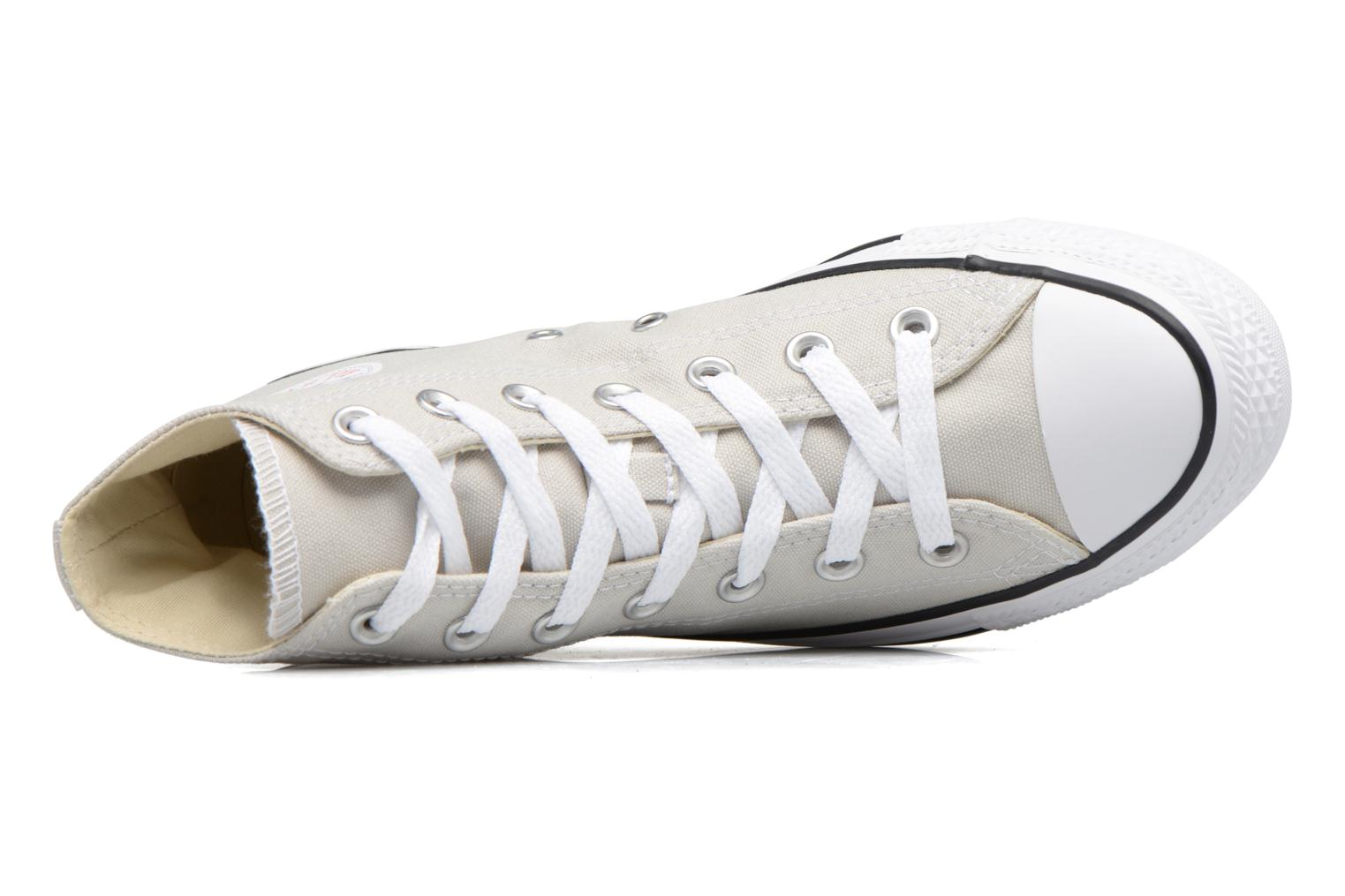 Sneakers Converse Chuck Taylor All Star Hi W Beige immagine sinistra