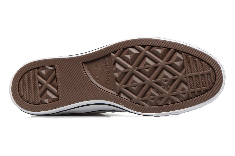 Sneakers Converse Chuck Taylor All Star Hi W Beige immagine dall'alto
