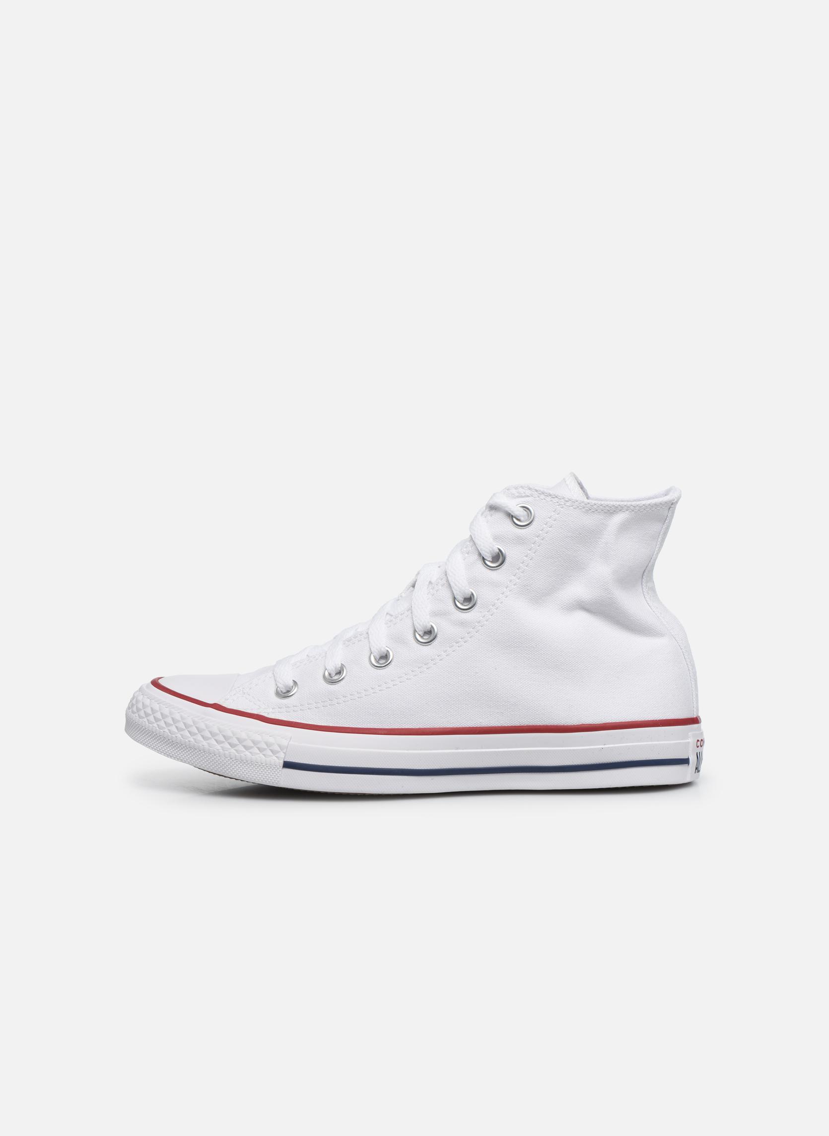 Sneaker Converse Chuck Taylor All Star Hi W weiß ansicht von vorne