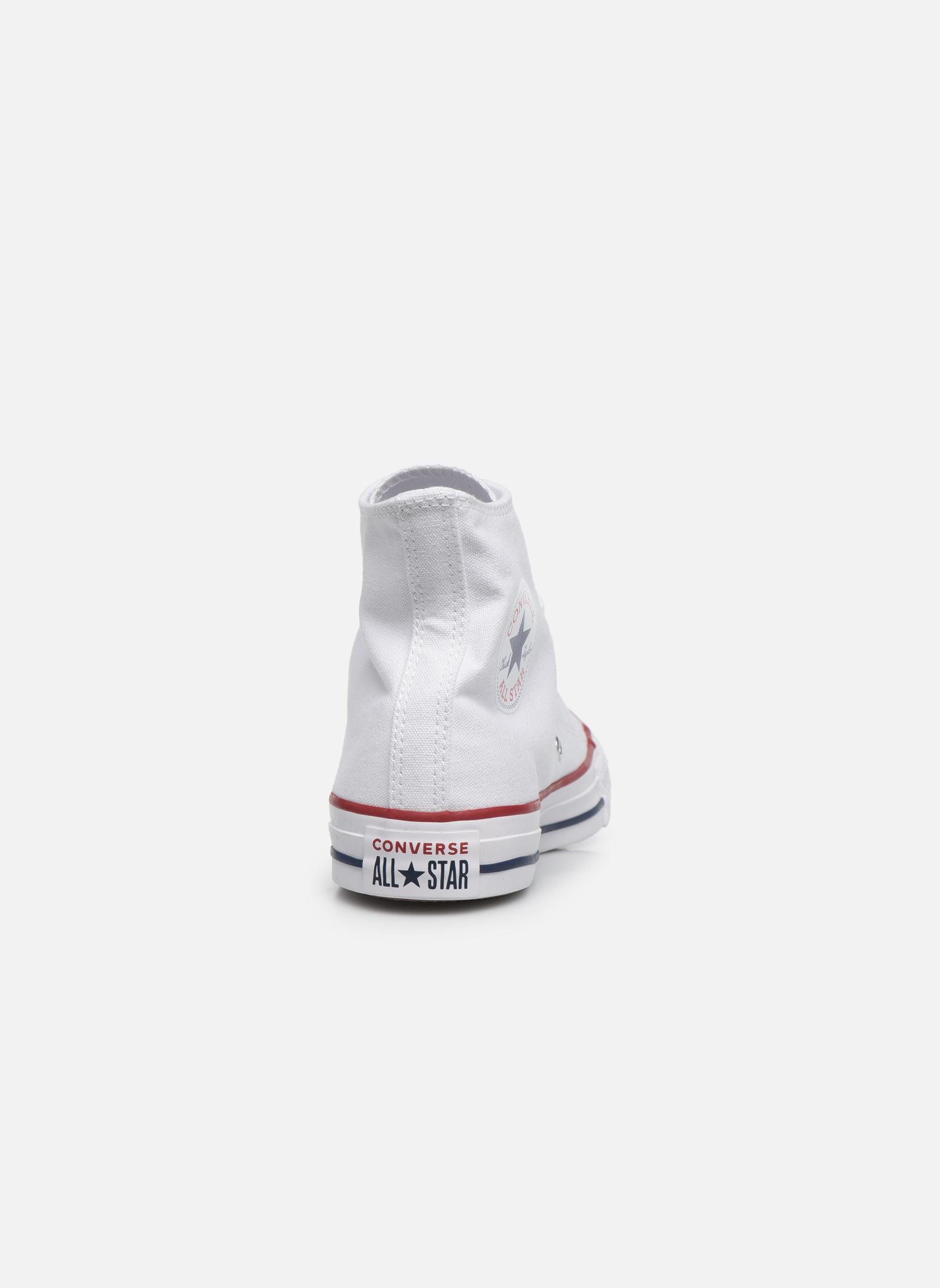Sneakers Converse Chuck Taylor All Star Hi W Hvid Se fra højre
