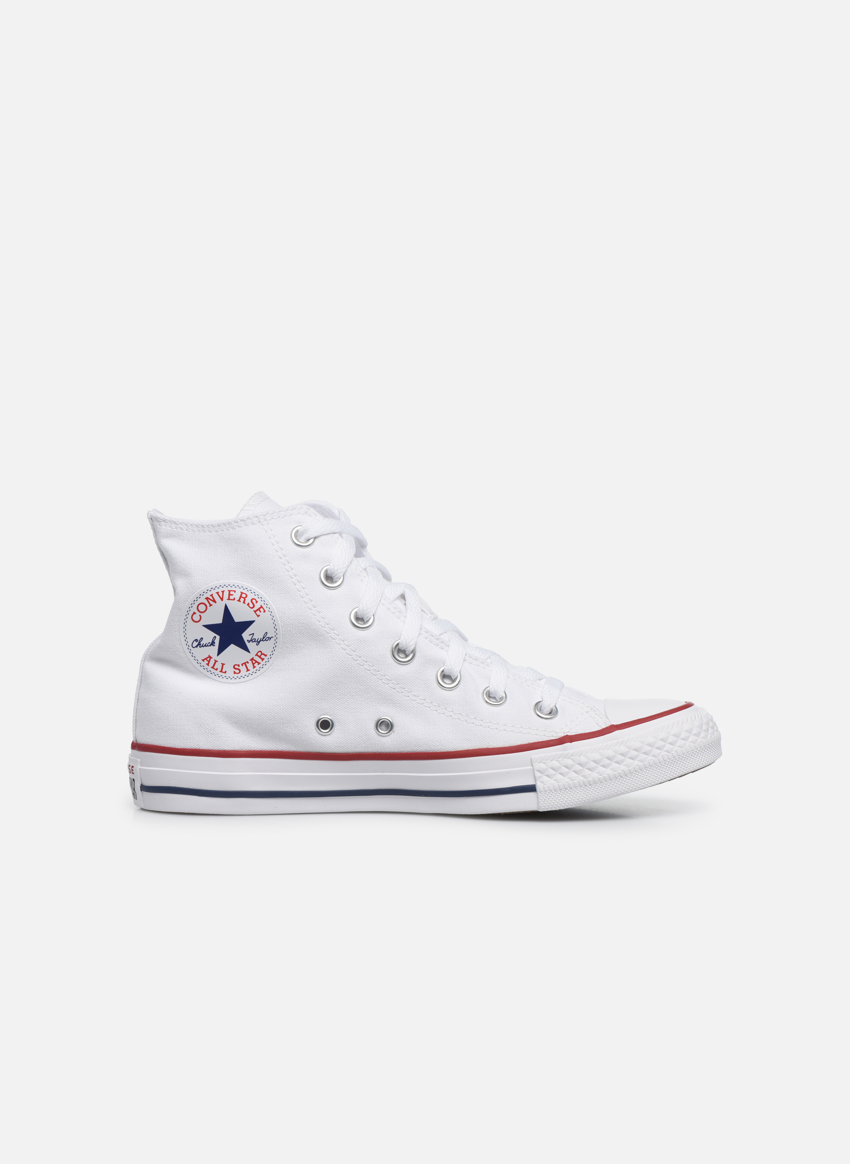 Sneaker Converse Chuck Taylor All Star Hi W weiß ansicht von hinten