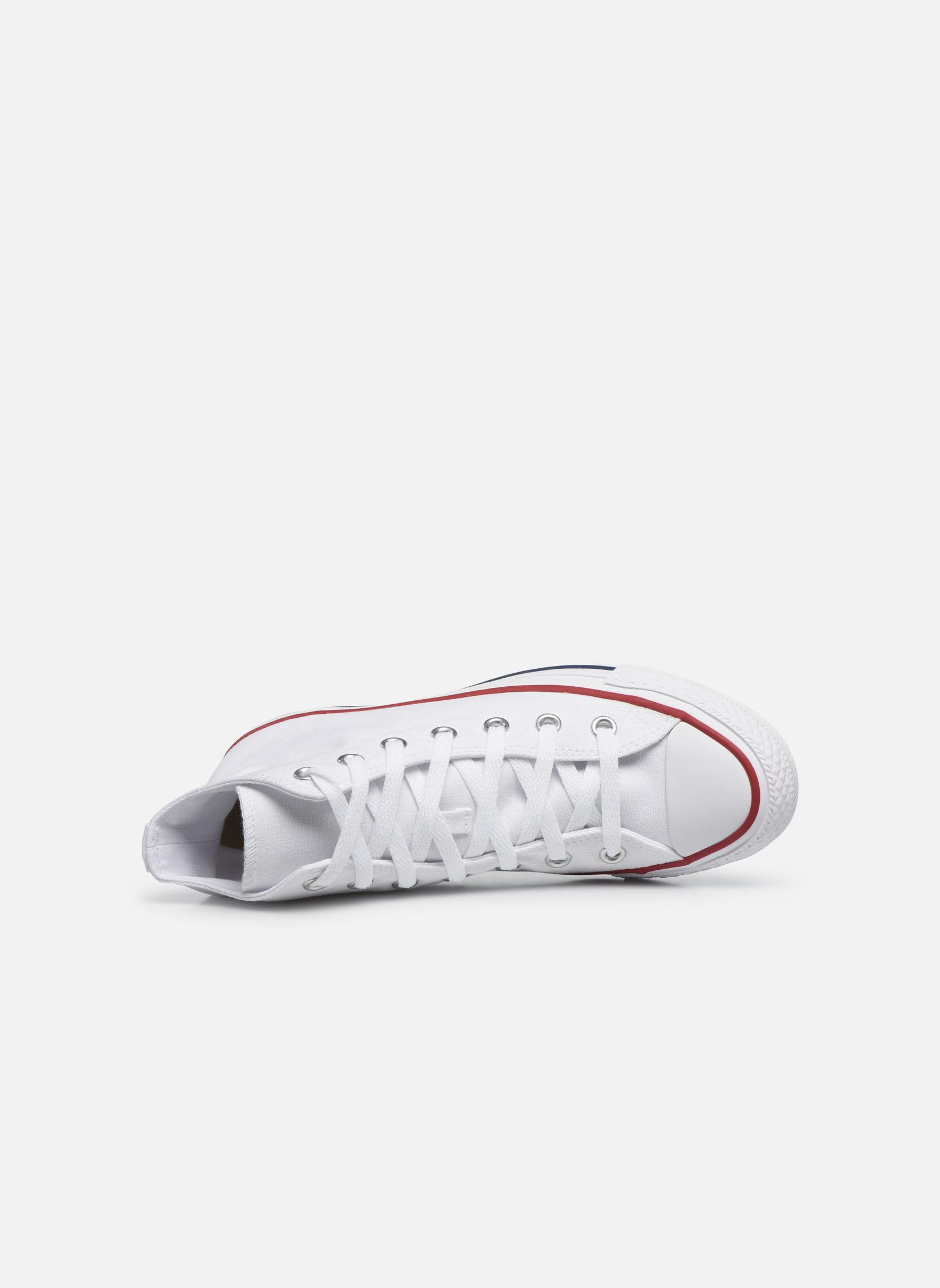 Sneaker Converse Chuck Taylor All Star Hi W weiß ansicht von links