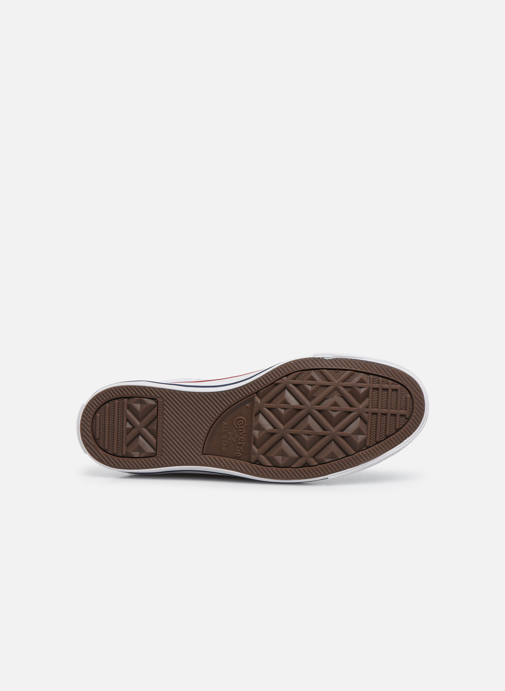 Sneaker Converse Chuck Taylor All Star Hi W weiß ansicht von oben