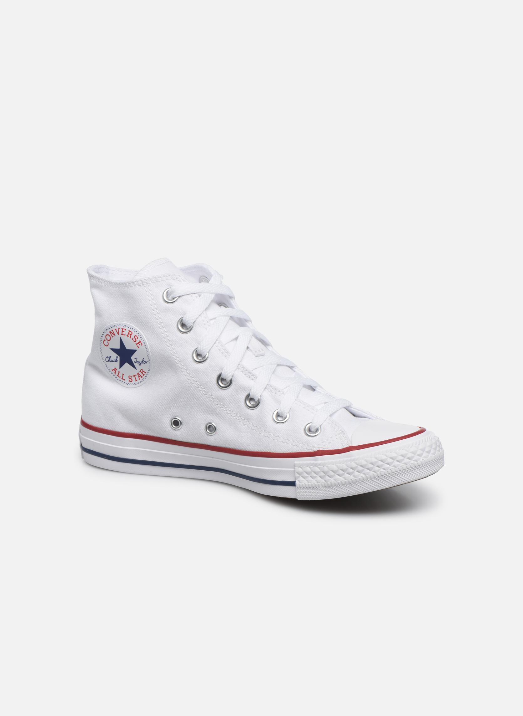 Sneakers Converse Chuck Taylor All Star Hi W Hvid detaljeret billede af skoene