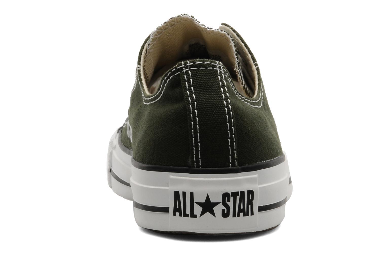 Baskets Converse Chuck Taylor All Star Ox W Vert vue droite