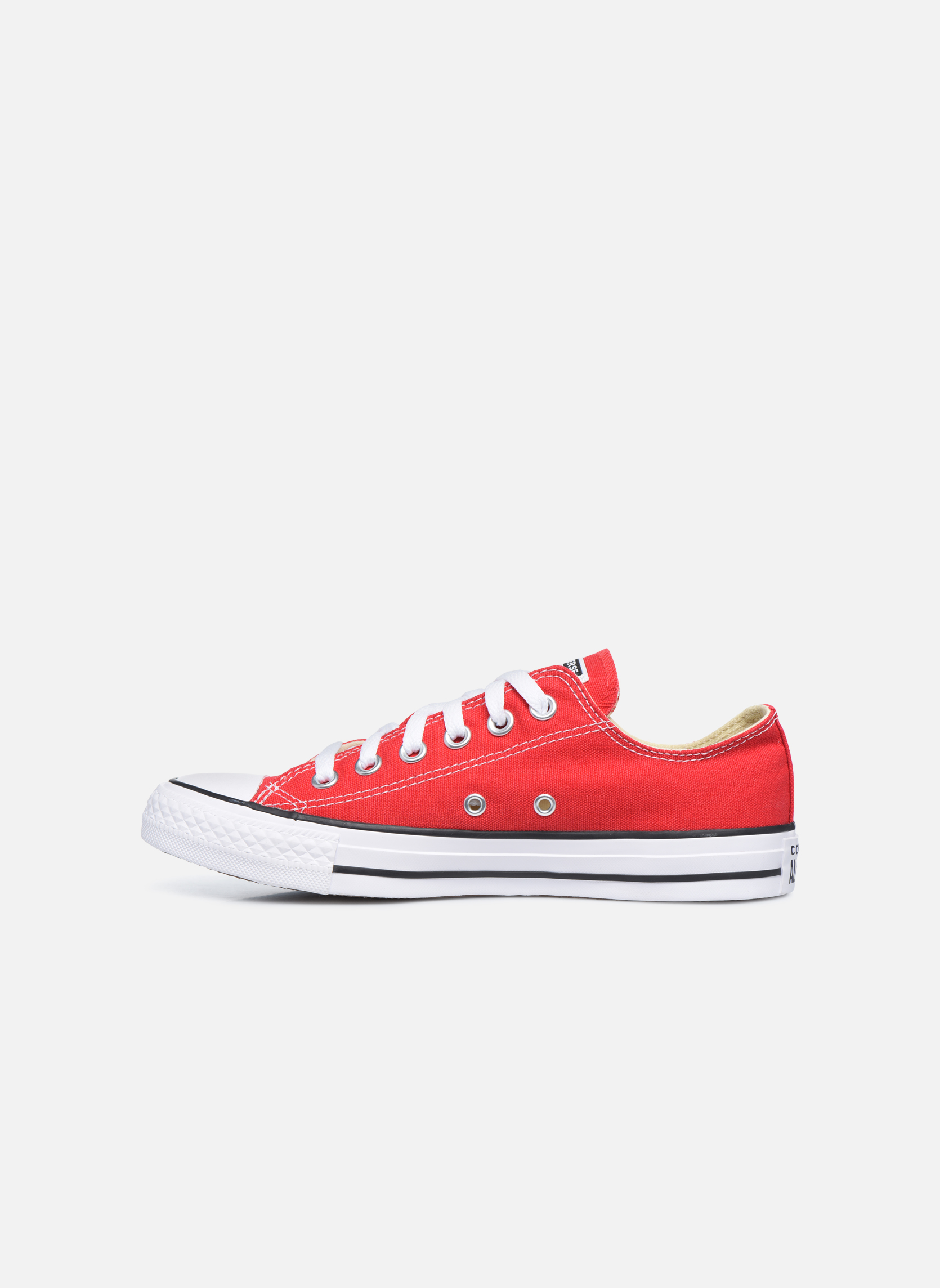 Baskets Converse Chuck Taylor All Star Ox W Rouge vue face