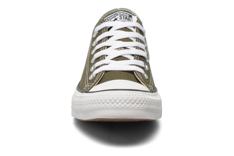 Baskets Converse Chuck Taylor All Star Ox W Vert vue portées chaussures