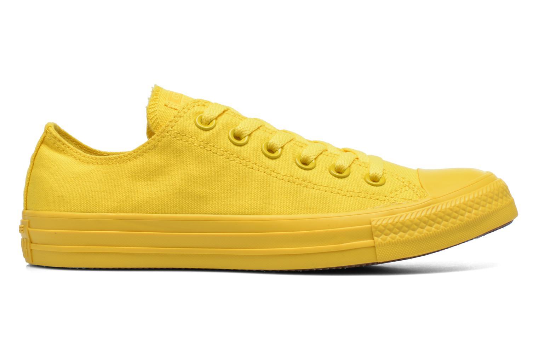 Sneaker Converse Chuck Taylor All Star Ox W gelb ansicht von hinten