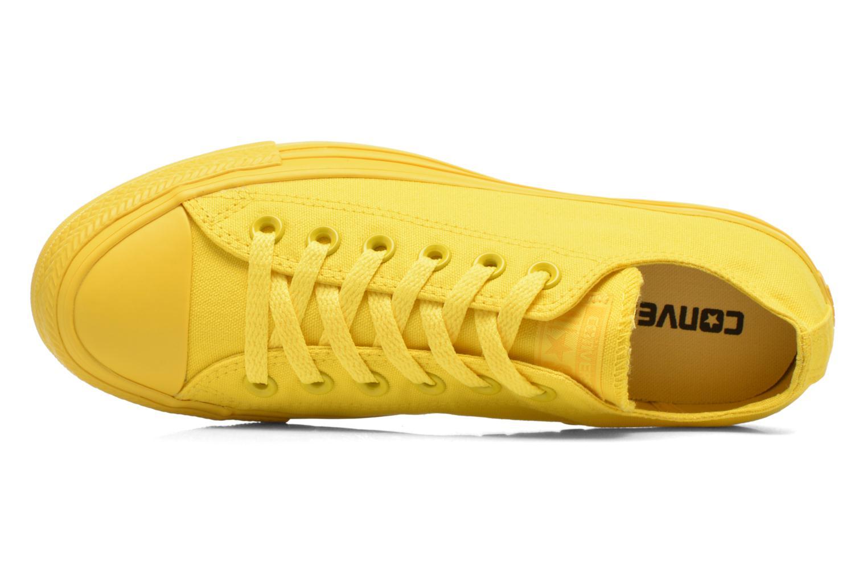 Sneaker Converse Chuck Taylor All Star Ox W gelb ansicht von links