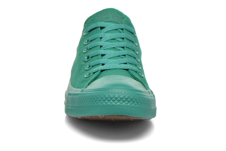 Sneaker Converse Chuck Taylor All Star Ox W grün schuhe getragen