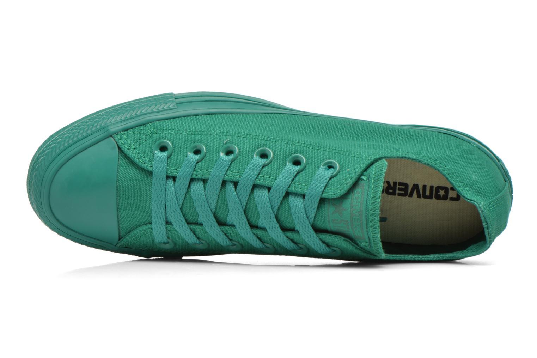 Sneaker Converse Chuck Taylor All Star Ox W grün ansicht von links