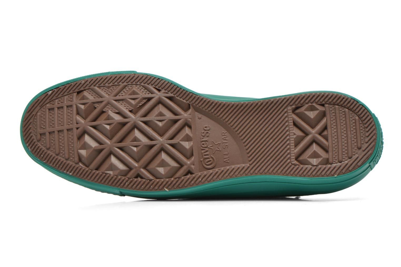 Sneaker Converse Chuck Taylor All Star Ox W grün ansicht von oben