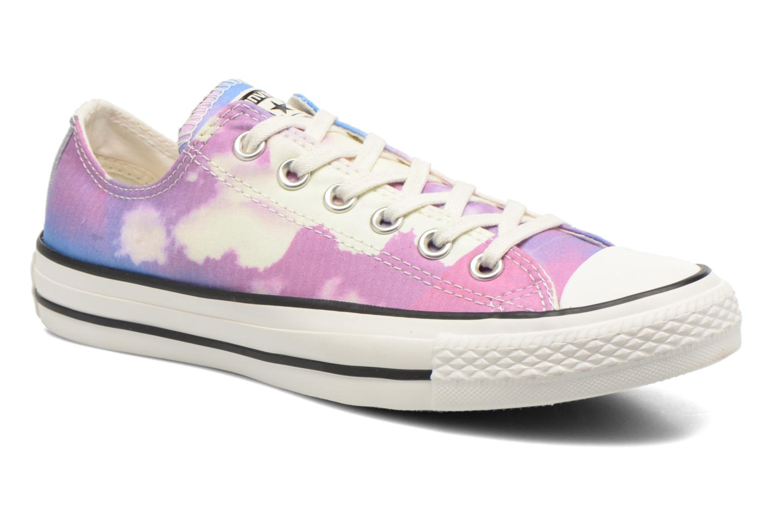 Chuck Taylor All Star Ox W Pink-Blue-Egret