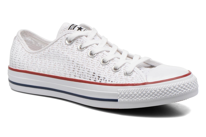 Sneaker Converse Chuck Taylor All Star Ox W weiß detaillierte ansicht/modell