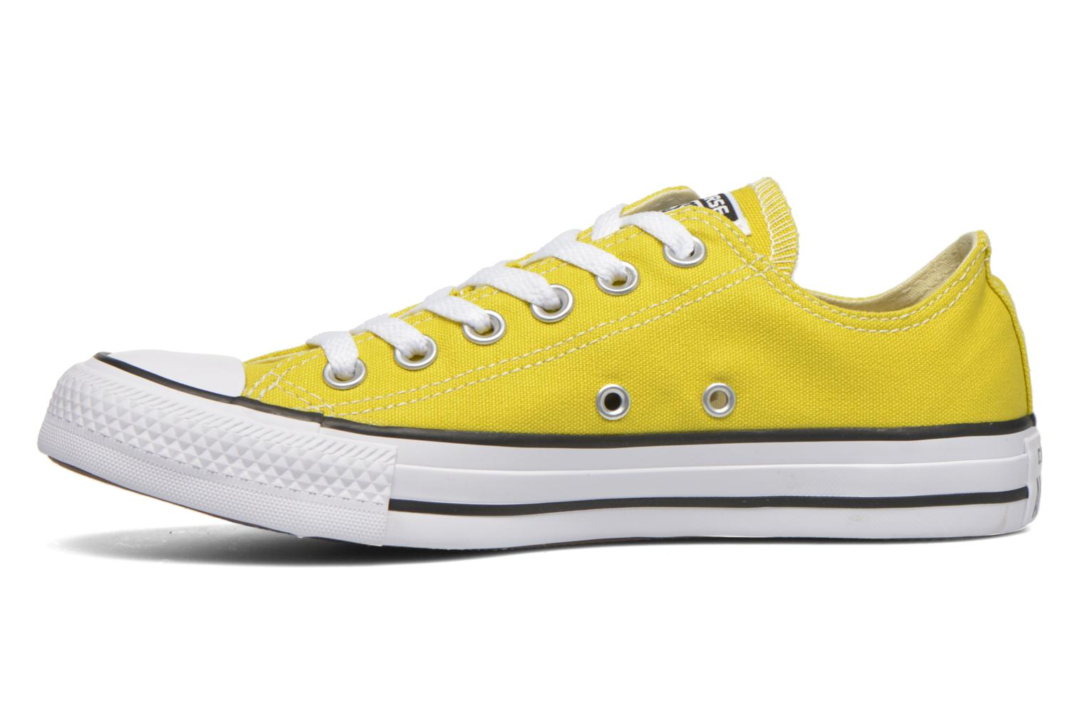Sneakers Converse Chuck Taylor All Star Ox W Geel voorkant
