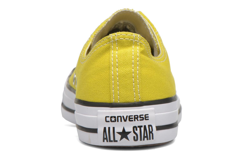 Baskets Converse Chuck Taylor All Star Ox W Jaune vue droite