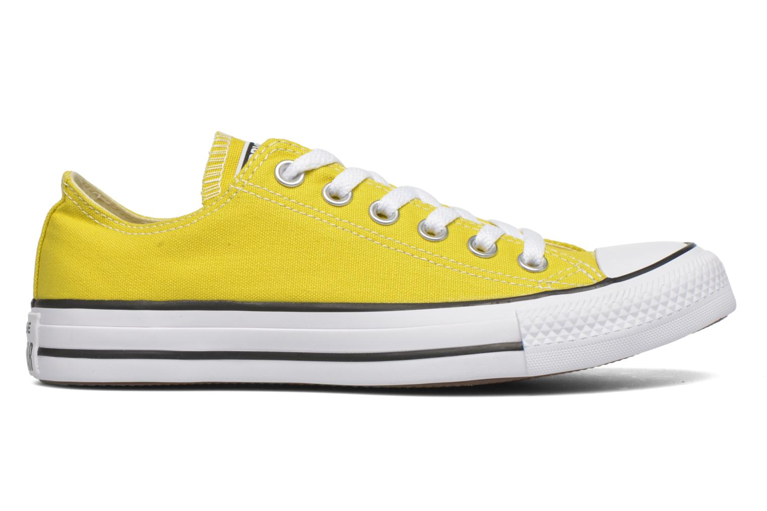 Sneakers Converse Chuck Taylor All Star Ox W Geel achterkant