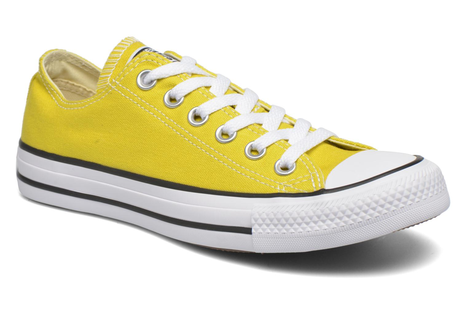 Sneakers Converse Chuck Taylor All Star Ox W Geel detail