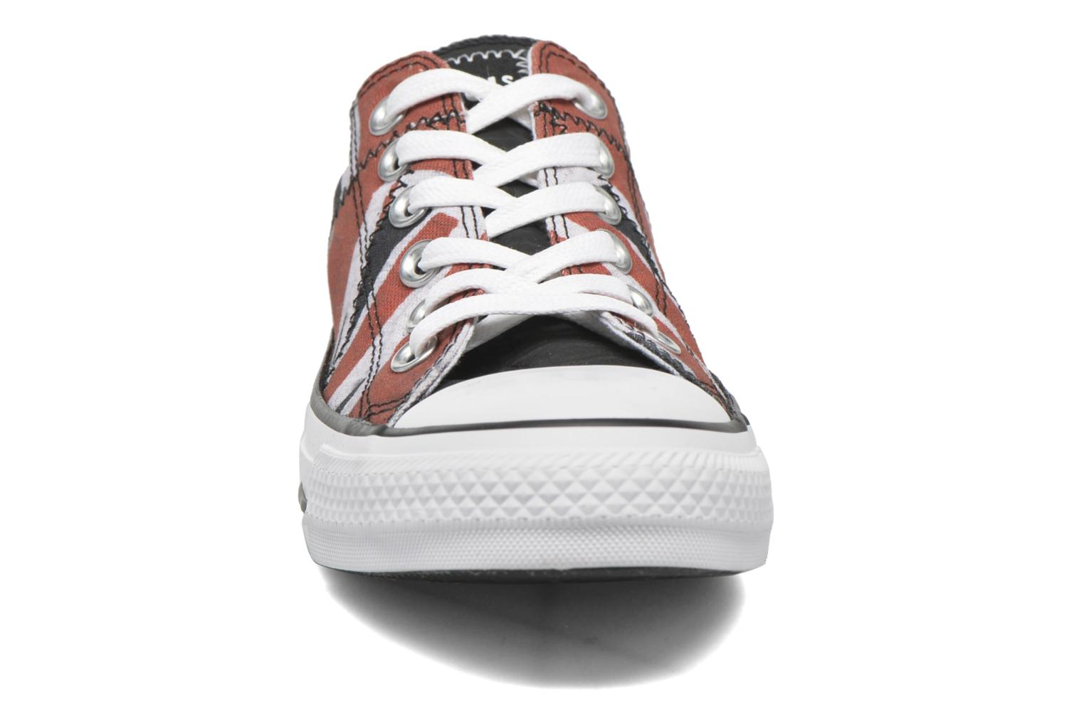 Baskets Converse Chuck Taylor All Star Ox W Multicolore vue portées chaussures