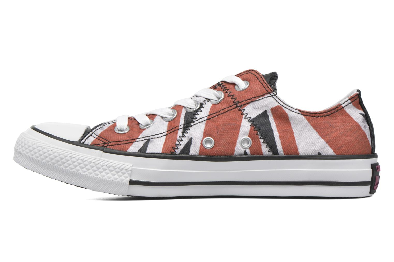 Baskets Converse Chuck Taylor All Star Ox W Multicolore vue face