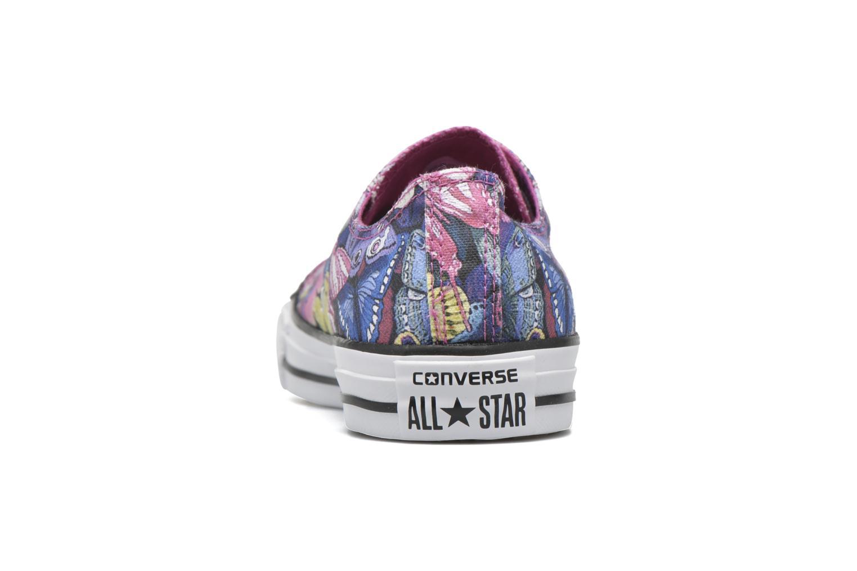 Baskets Converse Chuck Taylor All Star Ox W Multicolore vue droite