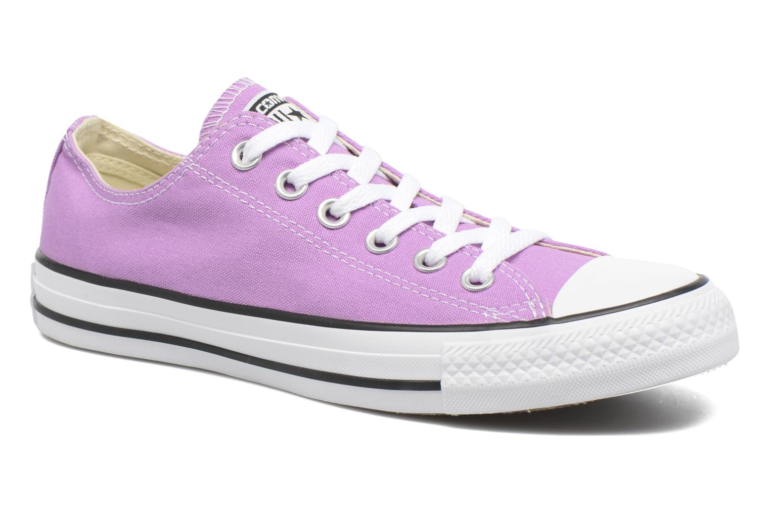 Sneakers Converse Chuck Taylor All Star Ox W Paars detail