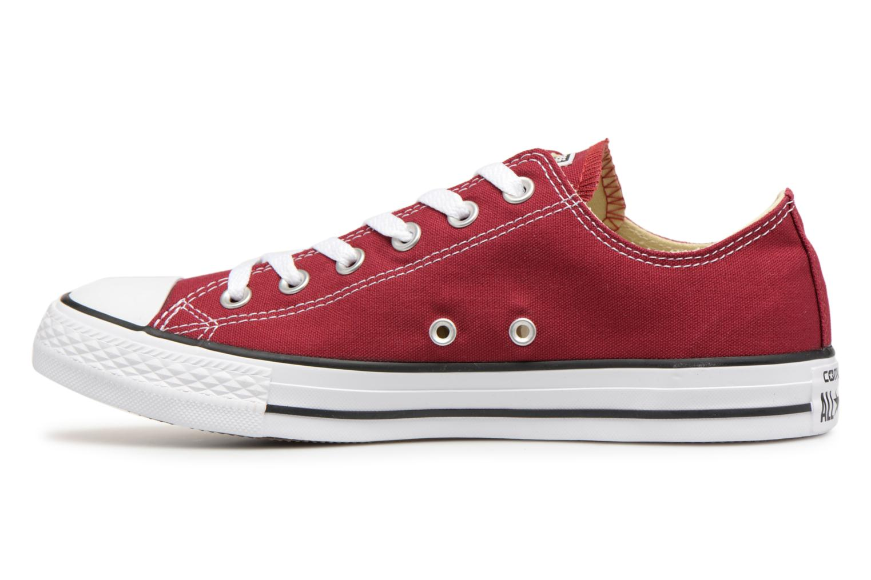 Sneaker Converse Chuck Taylor All Star Ox W weinrot ansicht von vorne