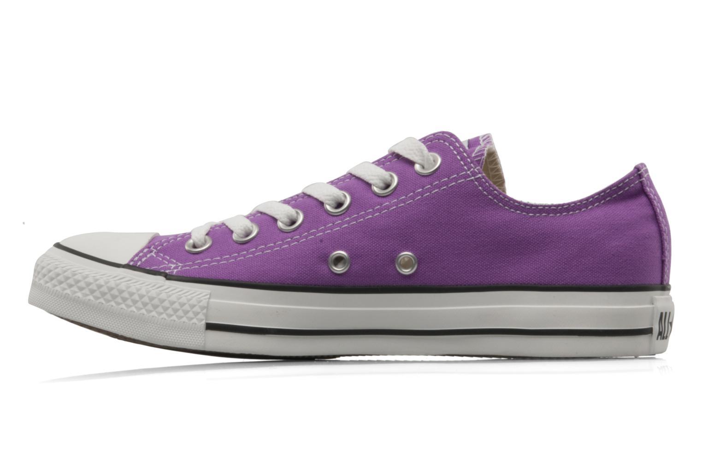 Sneaker Converse Chuck Taylor All Star Ox W lila ansicht von vorne