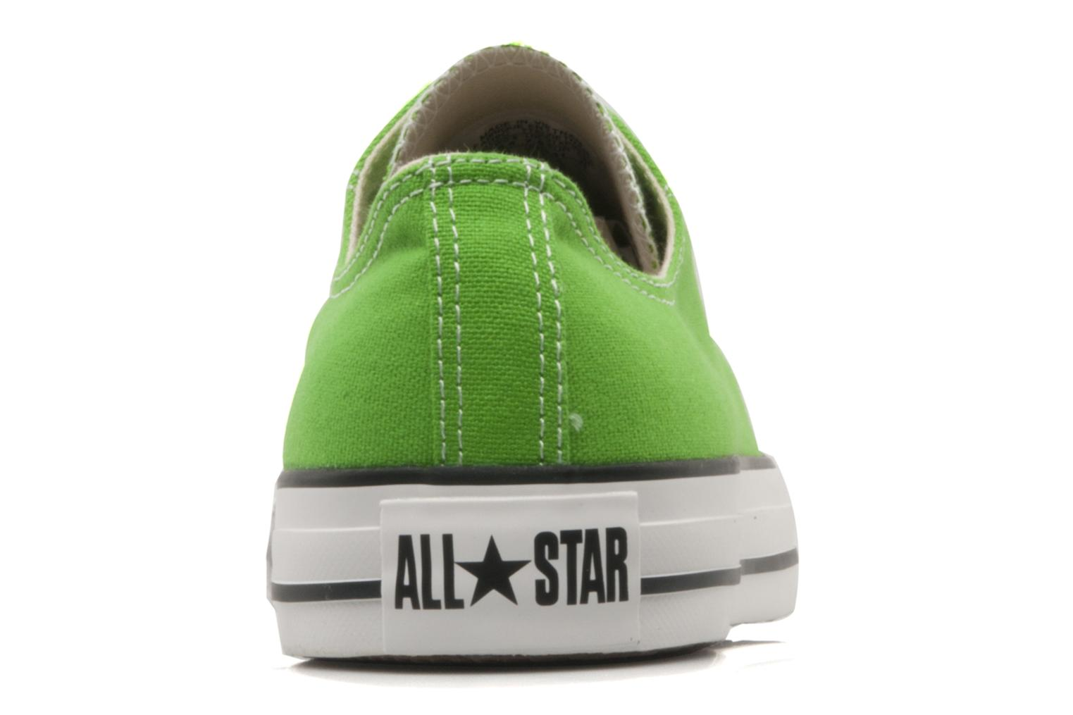 Trainers Converse Chuck Taylor All Star Ox W Green view from the right