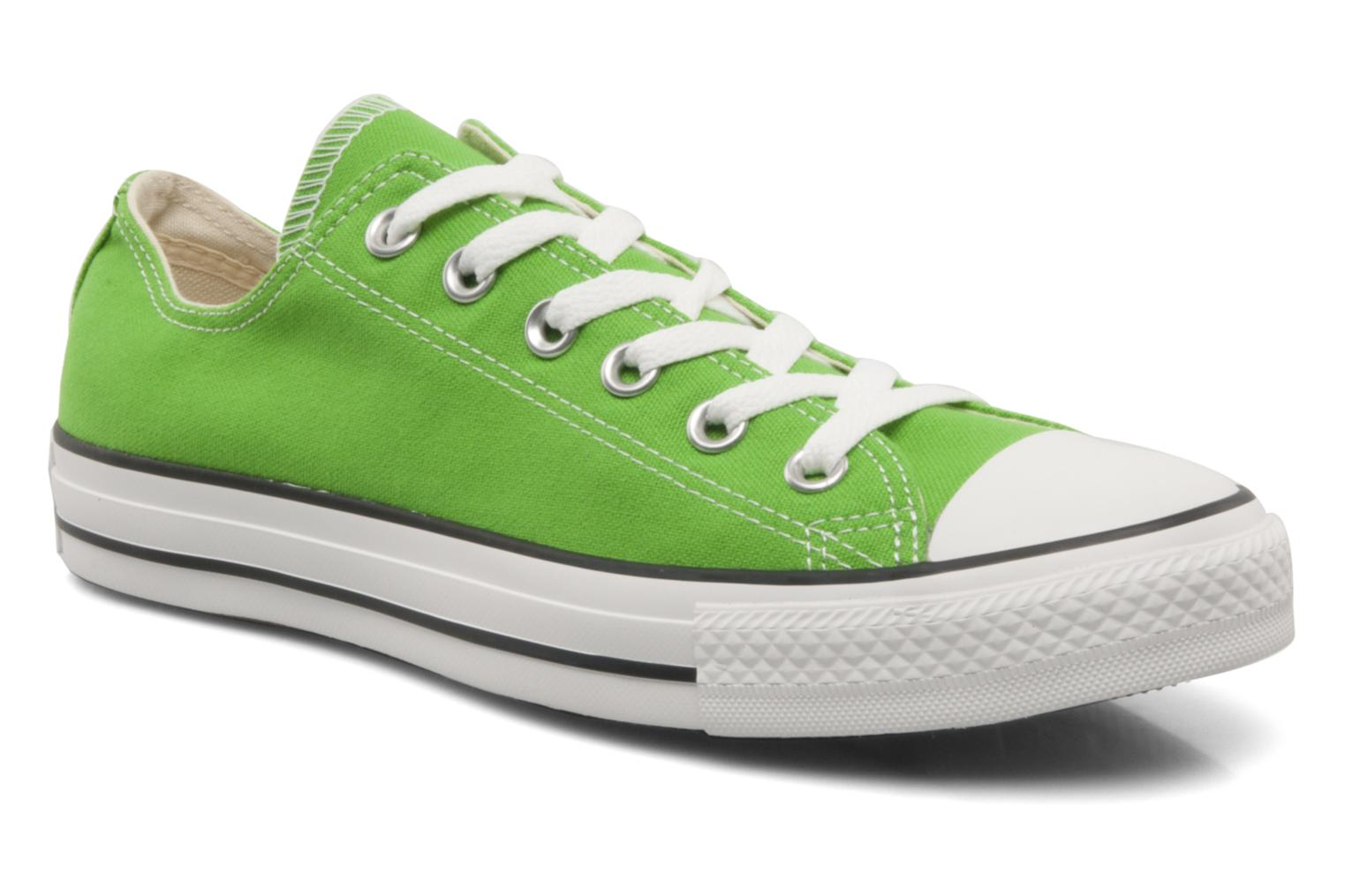 Trainers Converse Chuck Taylor All Star Ox W Green detailed view/ Pair view