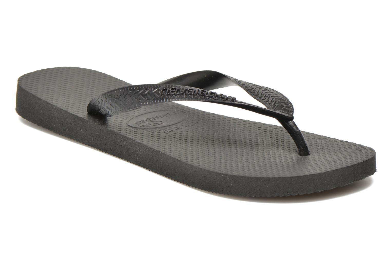 Flip flops & klipklapper Havaianas Top Femme Sort detaljeret billede af skoene