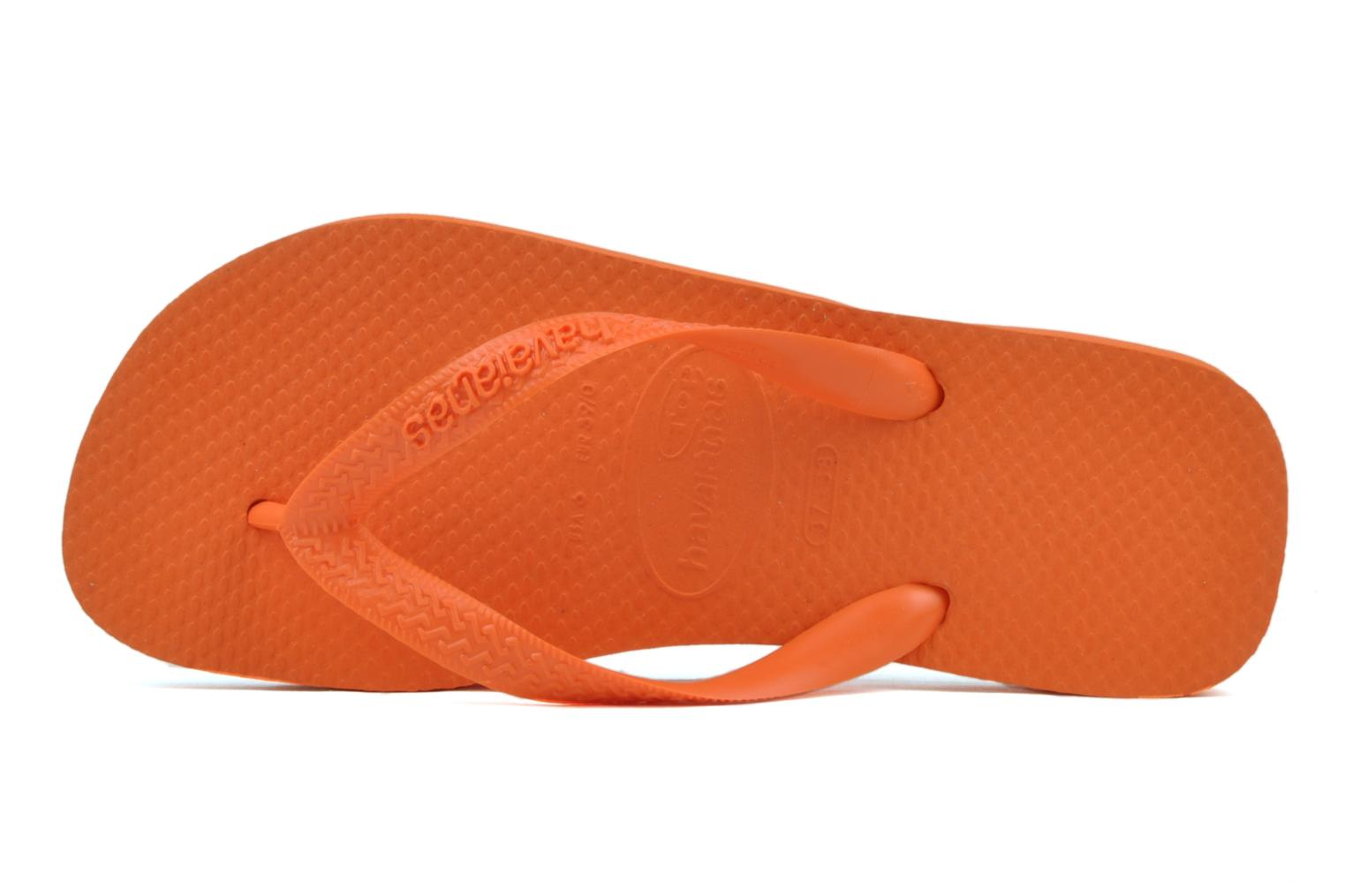 Tongs Havaianas Top F Orange vue gauche