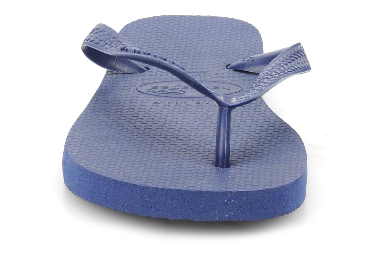 Tongs Havaianas Top F Bleu vue portées chaussures