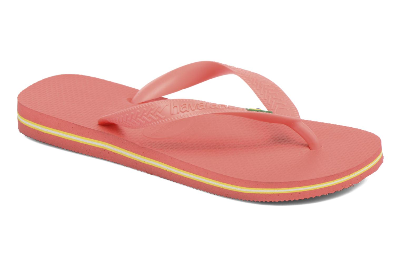 Slippers Havaianas Brazil Femme Oranje detail