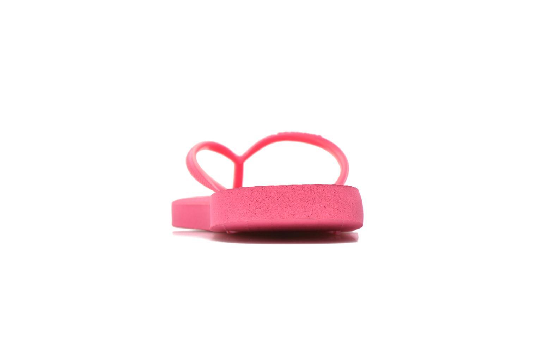 Slippers Havaianas Slim Métallic Femme Roze achterkant