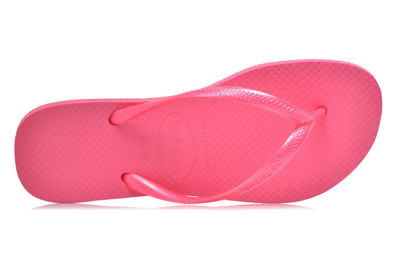 Slim Métallic Femme Shocking Pink
