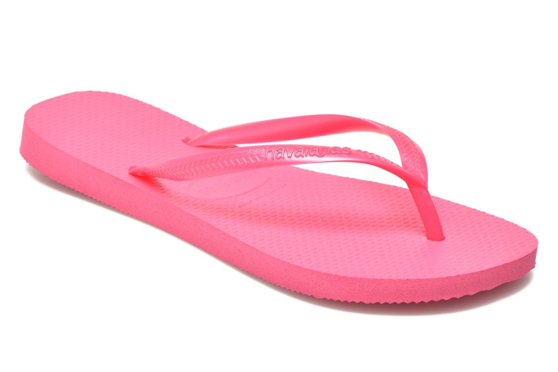 Slippers Havaianas Slim Métallic Femme Roze detail