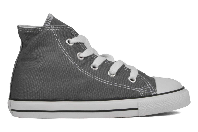 Sneaker Converse Chuck Taylor All Star Hi K grau ansicht von hinten