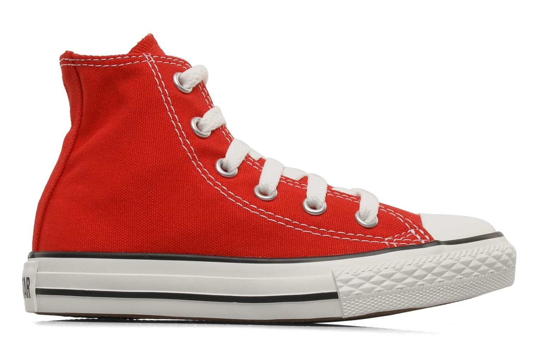 Sneaker Converse Chuck Taylor All Star Hi K rot ansicht von hinten