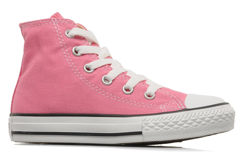 Sneaker Converse Chuck Taylor All Star Hi K rosa ansicht von hinten