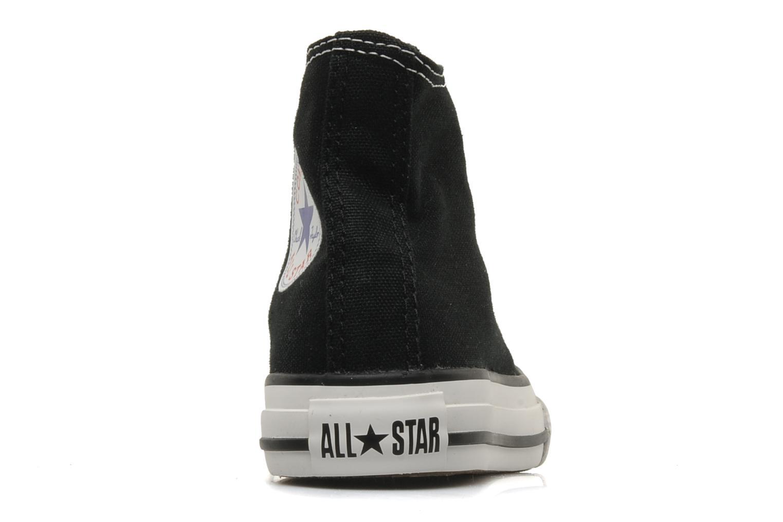 Sneaker Converse Chuck Taylor All Star Hi K schwarz ansicht von rechts
