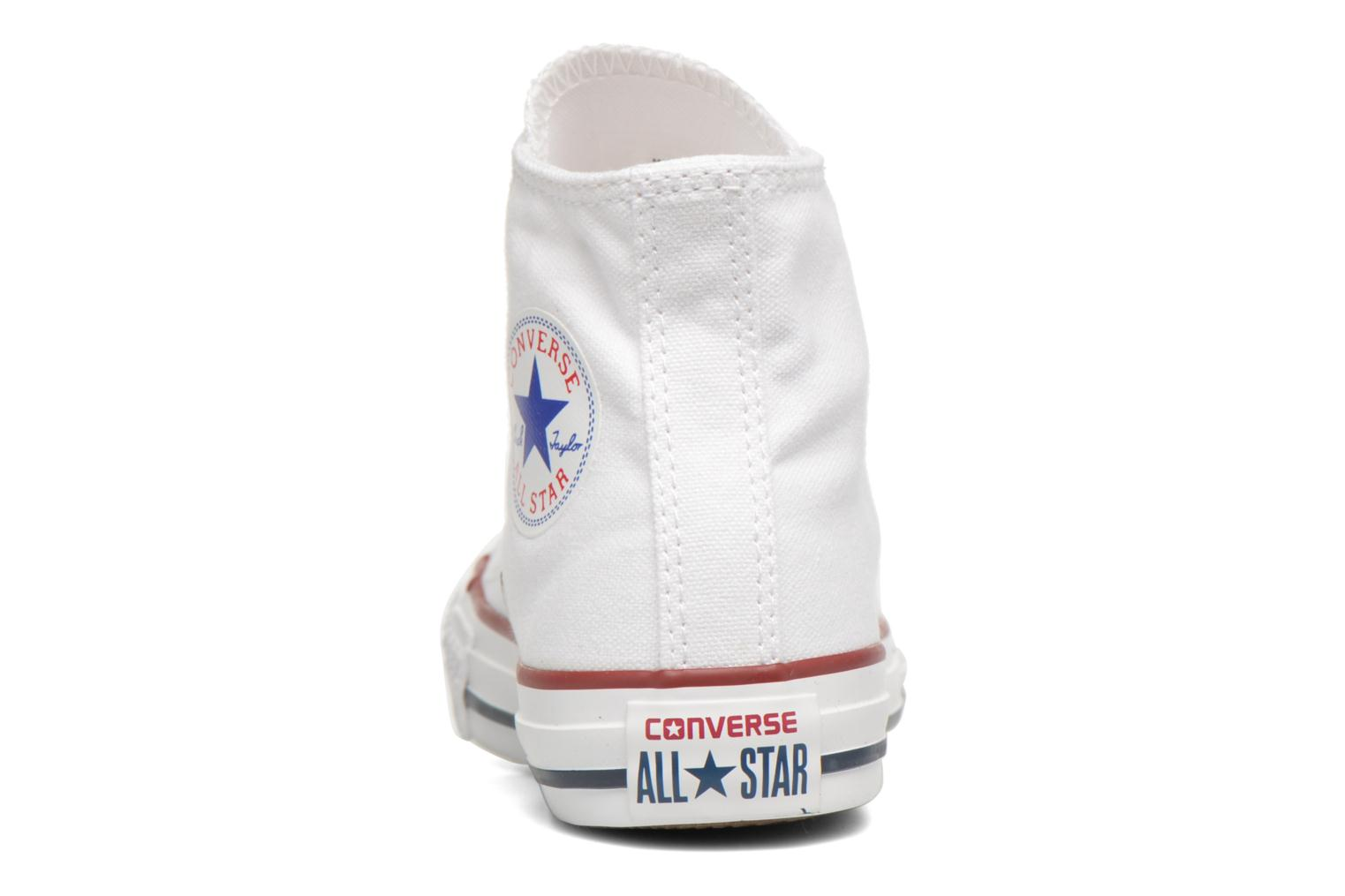 Sneakers Converse Chuck Taylor All Star Hi K Wit rechts