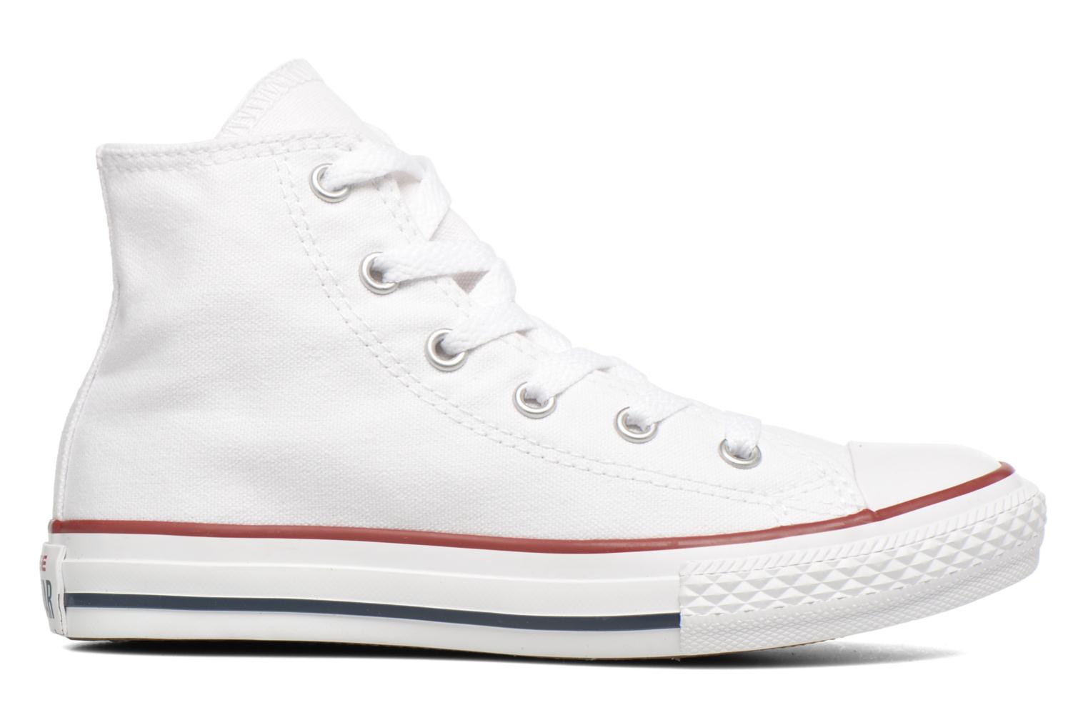 Sneakers Converse Chuck Taylor All Star Hi K Wit achterkant
