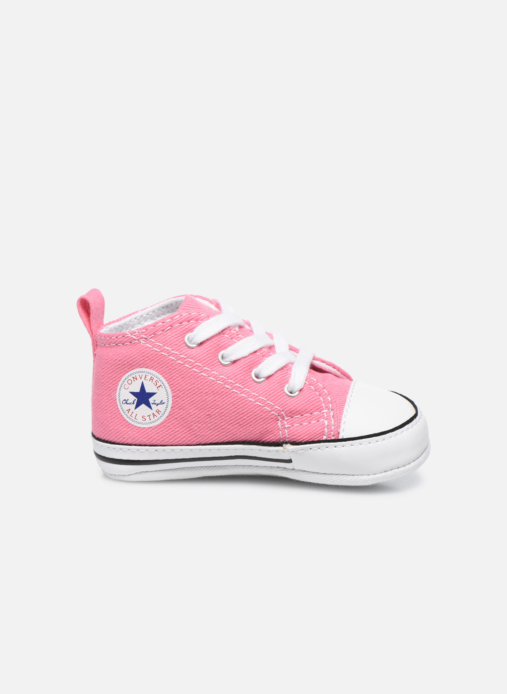 Baskets Converse First Star Cvs Rose vue derrière