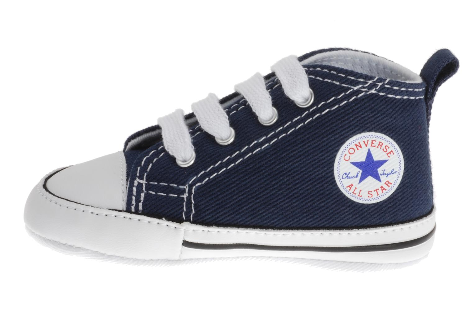 Sneakers Converse First Star Cvs Blauw voorkant