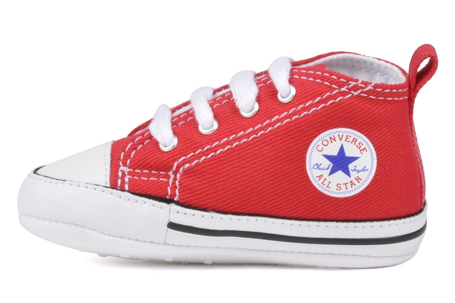 Sneakers Converse First Star Cvs Rosso immagine frontale