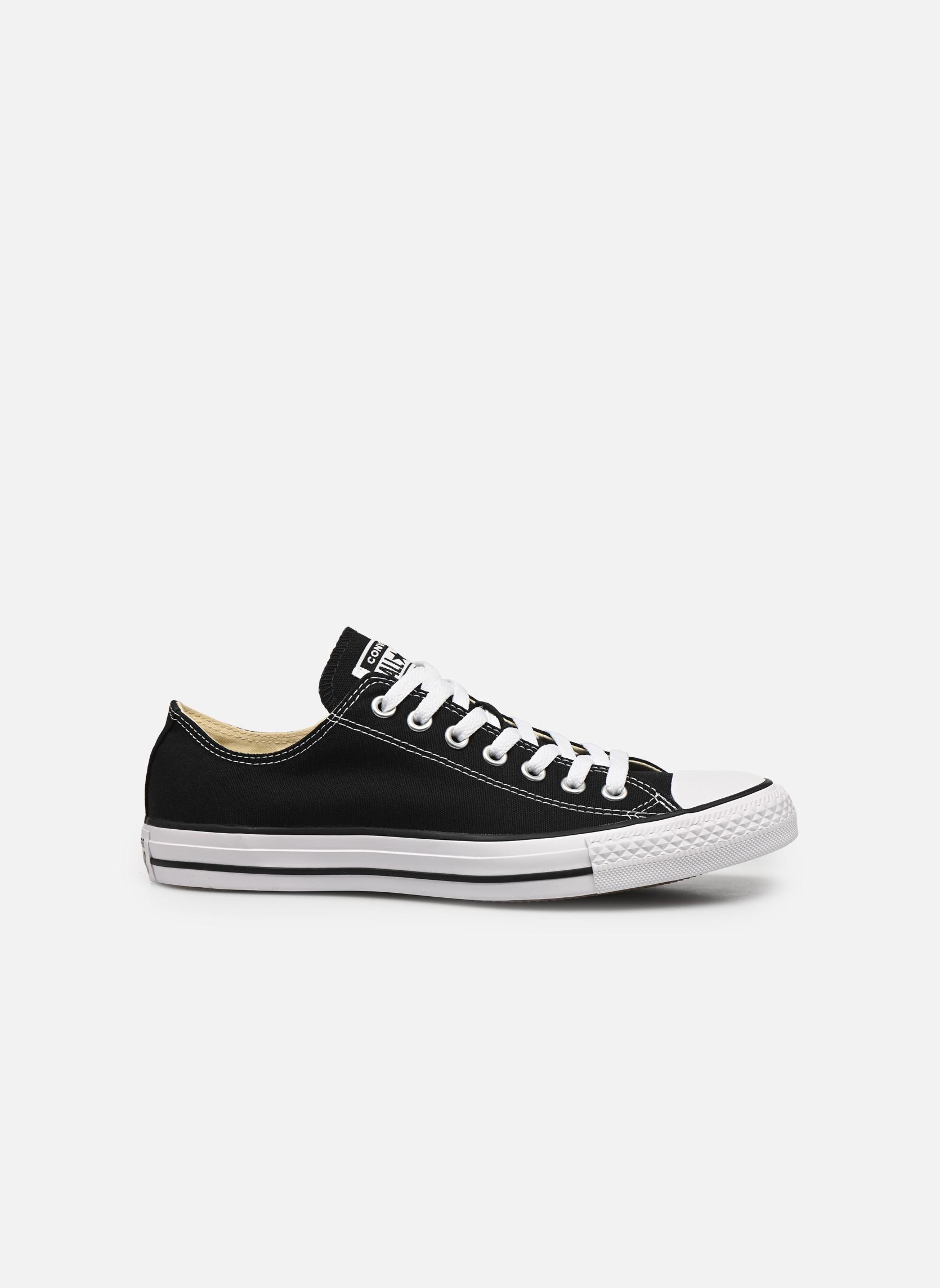 Sneakers Converse Chuck Taylor All Star Ox M Nero immagine posteriore