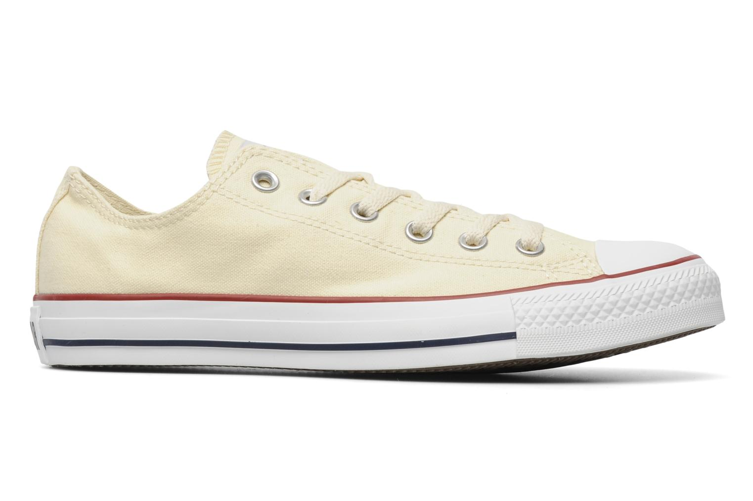 Trainers Converse Chuck Taylor All Star Ox M Beige back view