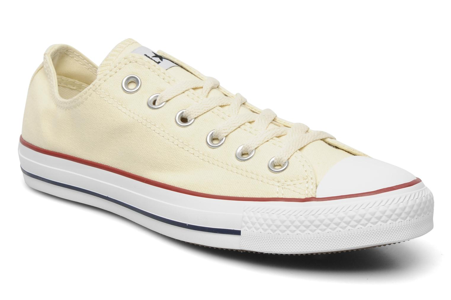 Trainers Converse Chuck Taylor All Star Ox M Beige detailed view/ Pair view